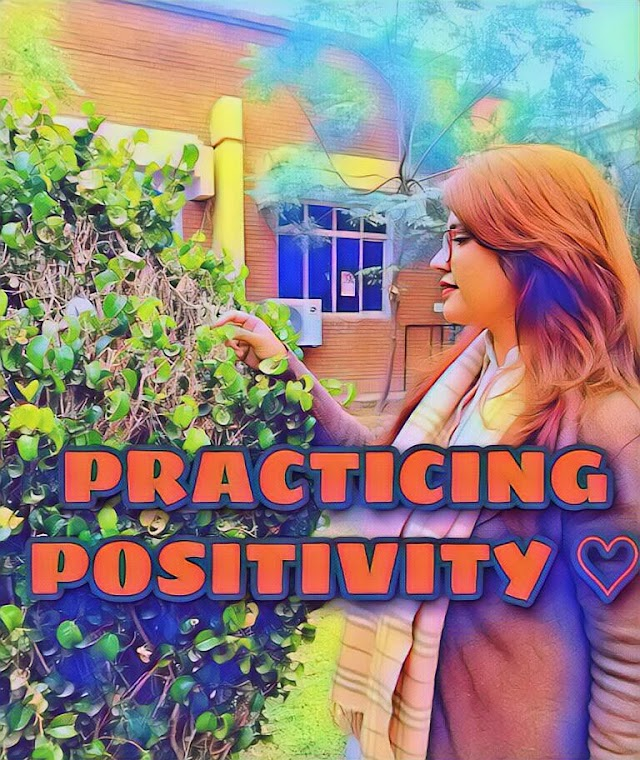 PRACTICING POSITIVITY 🔴 How to Develop Positive Attitude
