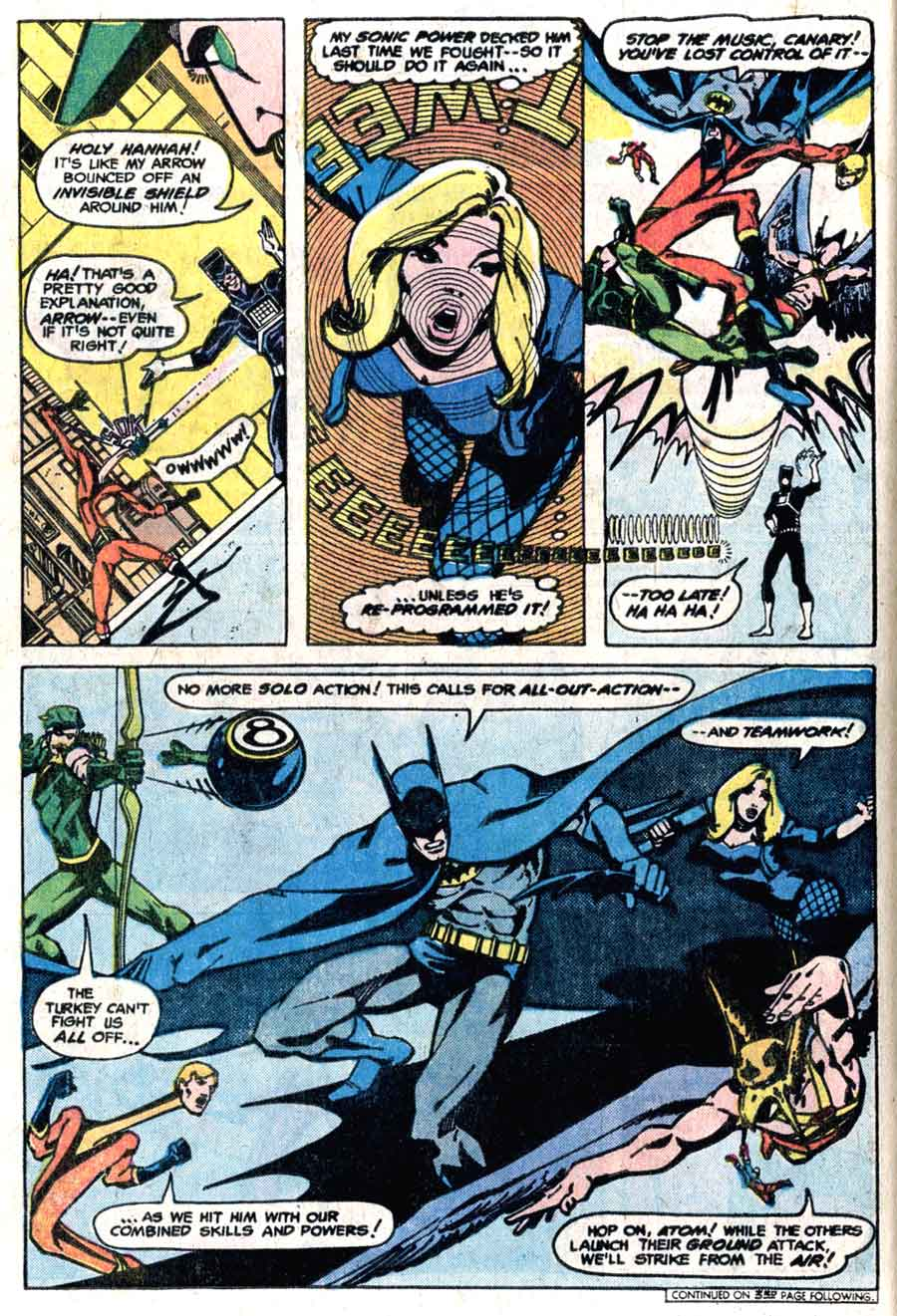 Detective Comics v1 #468 dc comic book page art by Marshall Rogers
