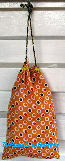 How to sew a simple Draw string Fabric  bag