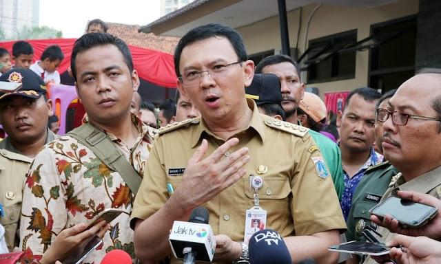 Ahok: Benar Apa Kata Pak Jokowi, Kerja... Kerja... Kerja... Sajalah!