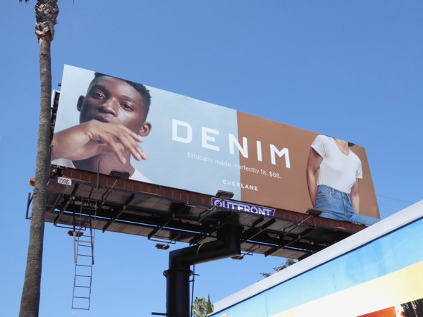 Denim Everlane FW17 billboard