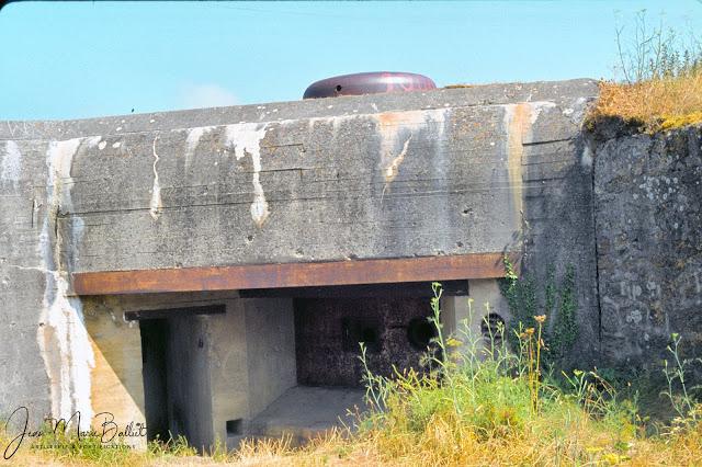 Fort d'Arboulé (la Varde). Casemate de type R122 surmontée d'une coupole type 441PO1