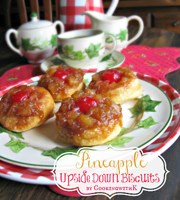 Pineapple Upside Down Biscuits