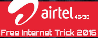 Latest Working Airtel 2G, 3G and 4G free Tricks Airtel Tricks Free Internet