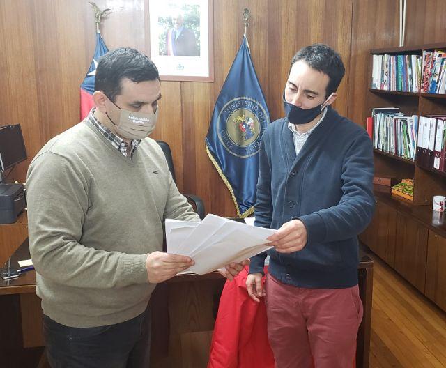 Mario Bello y Pablo Hernández