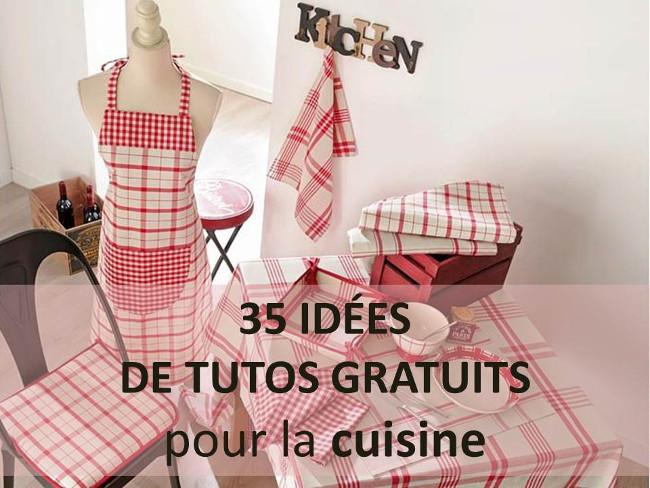 35 idees de tutos couture pour la cuisine