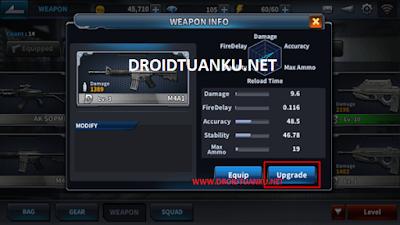Cara Menghapus dan Menjual Senjata (Weapon) Point Blank Mobile dengan Material Parts