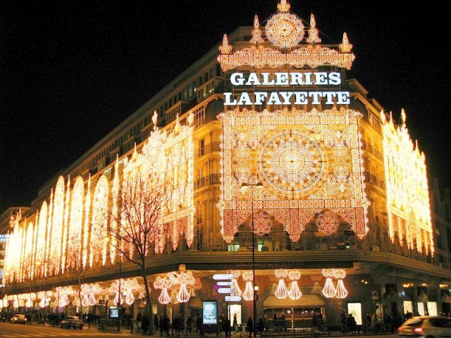 Galerias Lafayette em Paris