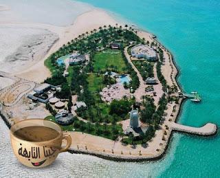 اماكن سياحية في قطر للعوائل- جزيرة النخل