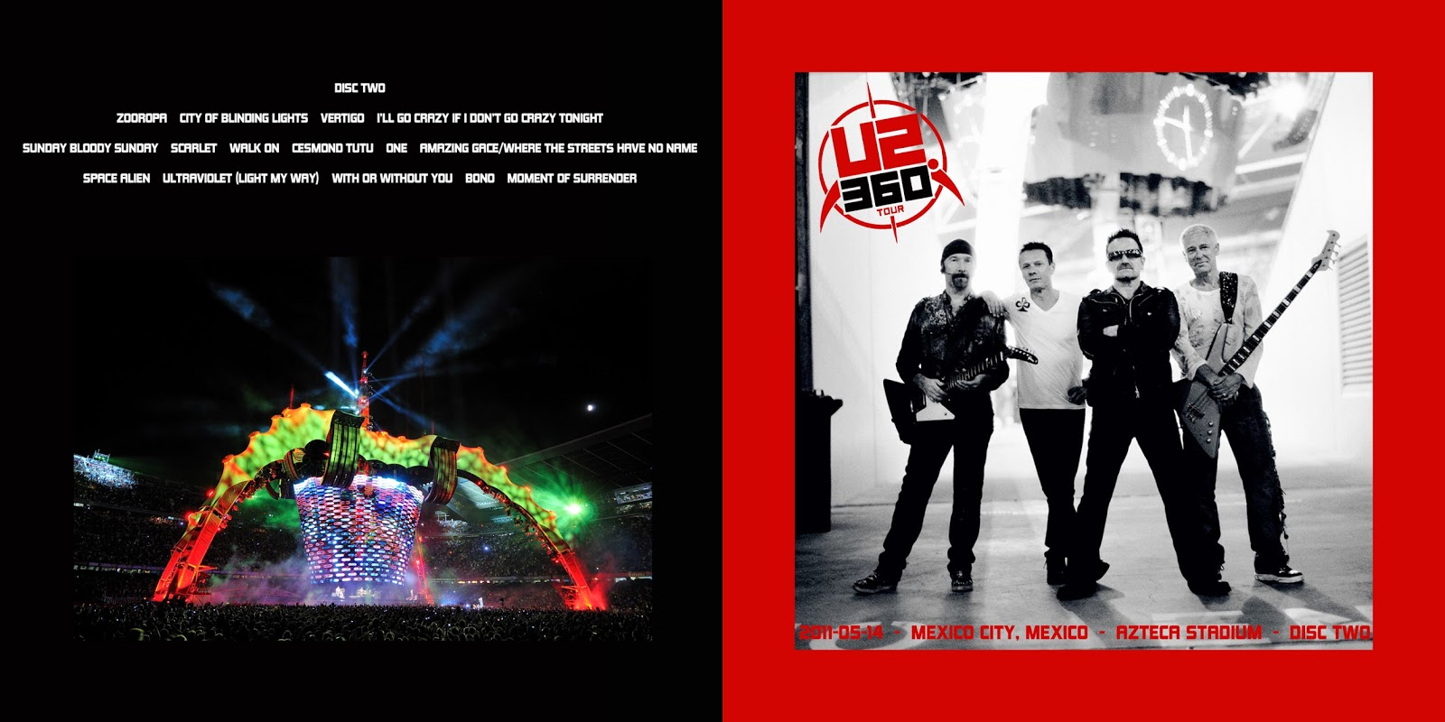 All the Air In My Lungs: U2 - Live in Mexico City - 2011