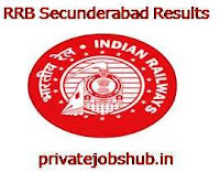 RRB Secunderabad Results