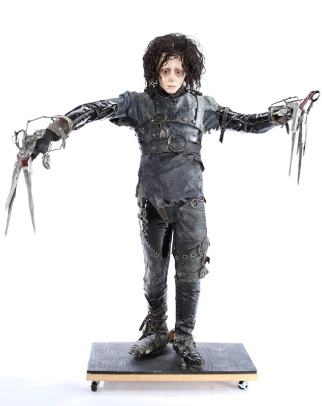 Johnny Depp Edward Scissorhands costume