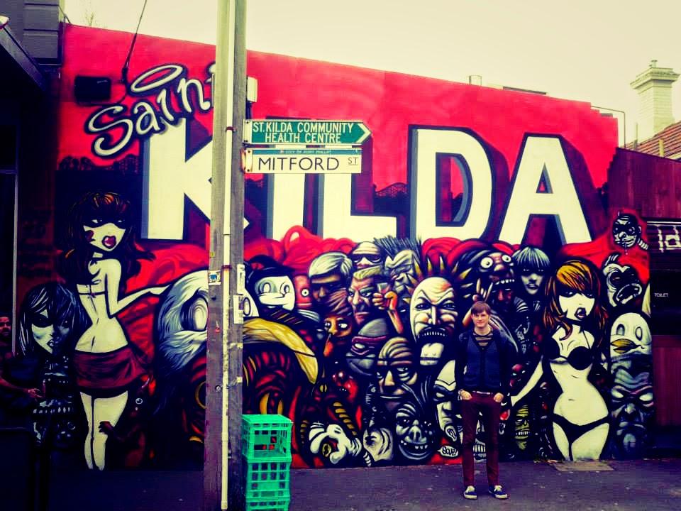 st kilda melbourne graffiti