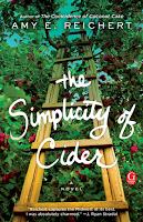 The Simplicity of Cider a novel by Amy E. Reichert, La Simplicidad de La Cidra una novela, ficción literaria, romance, chick lit, lista de lectura