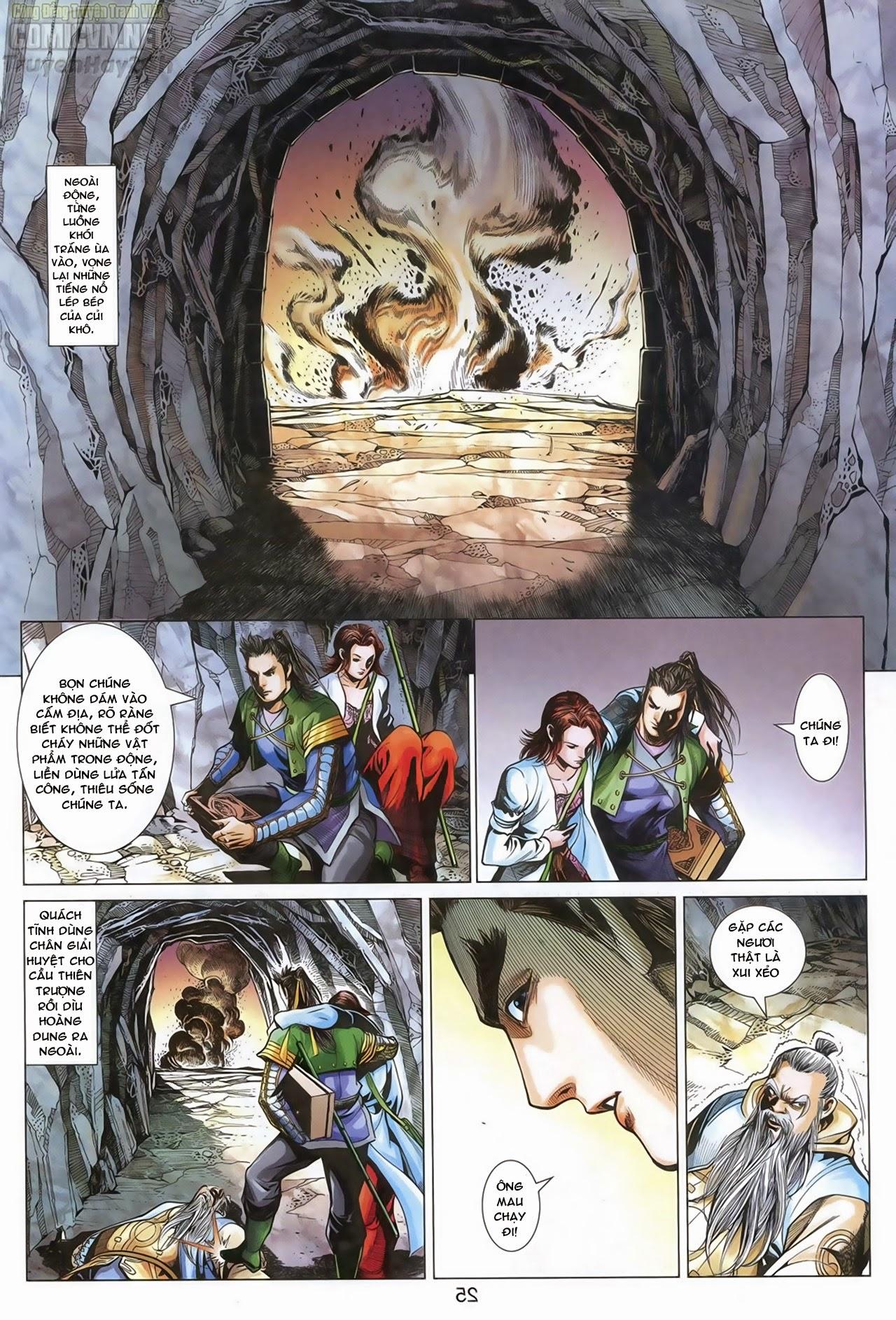 Anh Hùng Xạ Điêu anh hùng xạ đêu chap 69: hồn đoạn thiết chưởng phong trang 26