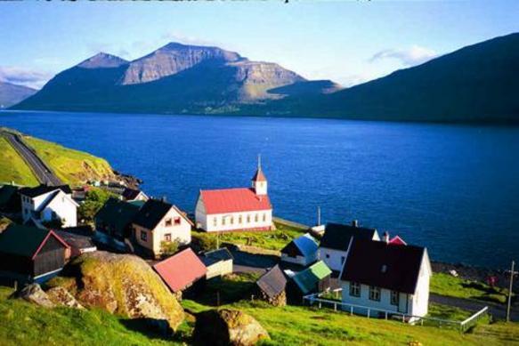 Danish Island North Of Scotland