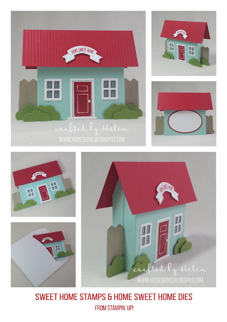 H2 Designs | Home Sweet Home Dies & Sweet Home Stamps
