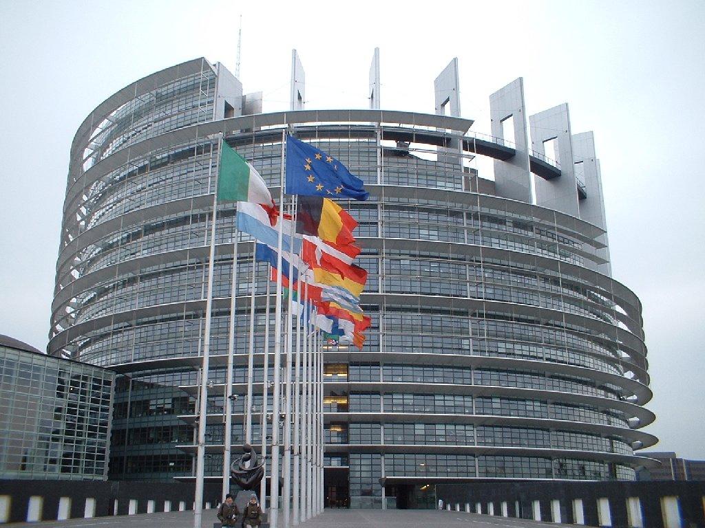 Visita al parlamento europeo con il for Parlamento sede
