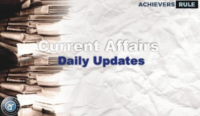 Current Affairs Update - 11 August 2017