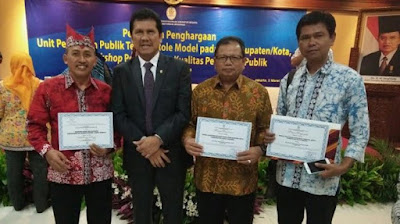 3 SKPD Banyuwangi riah penghargaan Kemenpan RB.