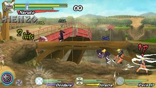 Game Naruto Shippuden Ultimate Ninja Heroes 3 ISO