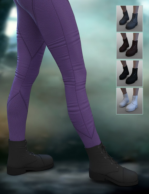 X-Fashion Mesh Outfit for Genesis 3 Female