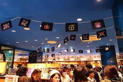 Inside One Piece Mugiwara Store Tokyo Tower Japan