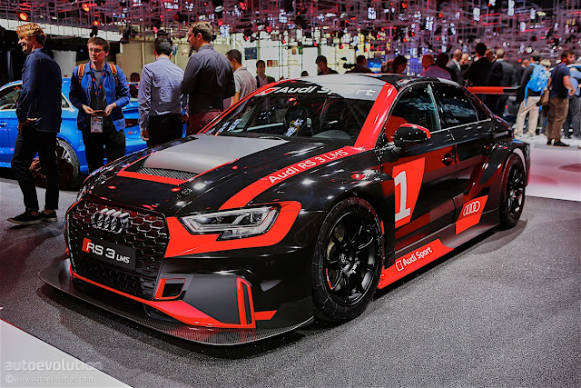 Live Shots Of The Audi RS3 LMS Look Even Better
