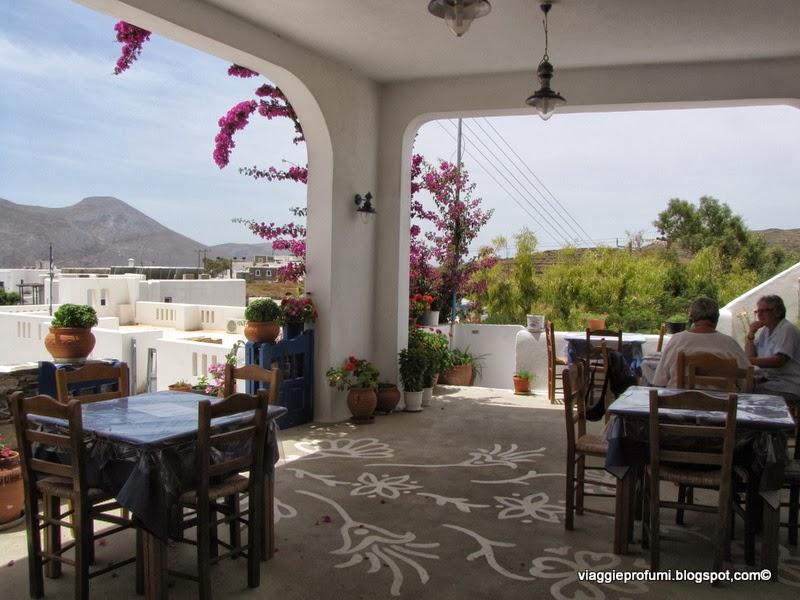 Amorgos, taverna tipica
