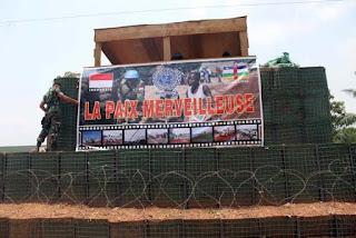 Kontingen Garuda Sosialisasikan Perdamaian di Afrika Tengah