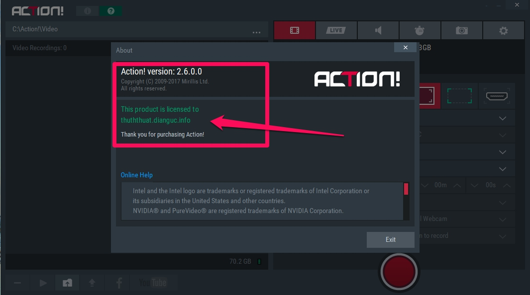 Download Action Full crack, serial key Action