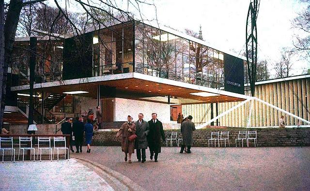 1958 wf Yugoslavia pavilion photograph