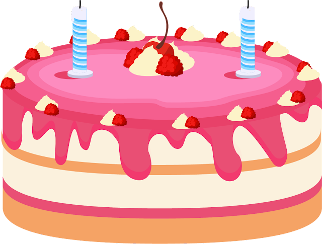 Doğum Günü Pasta Vektör