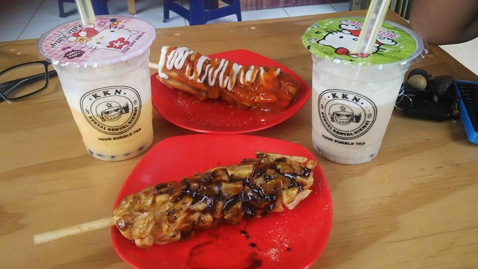 Ketemuan, Makan di Waroeng Nomat Bojong Gede - taupikwida