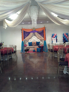 Moroccan party theme decoration