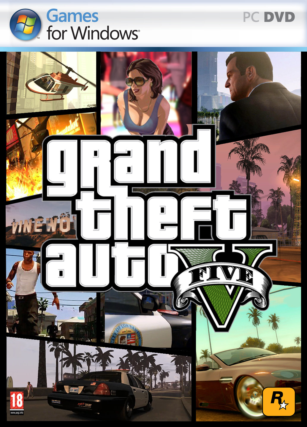 Descargar GTA V 1.41 [PC] [Full] [+Update, Crack, Parche Online] [Español] Gratis [MEGA-MediaFire]