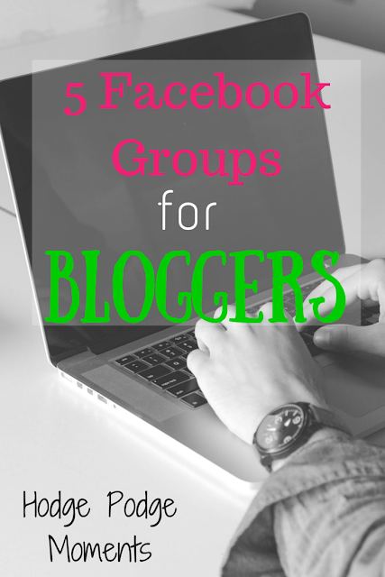 5 Facebook Groups for Bloggers