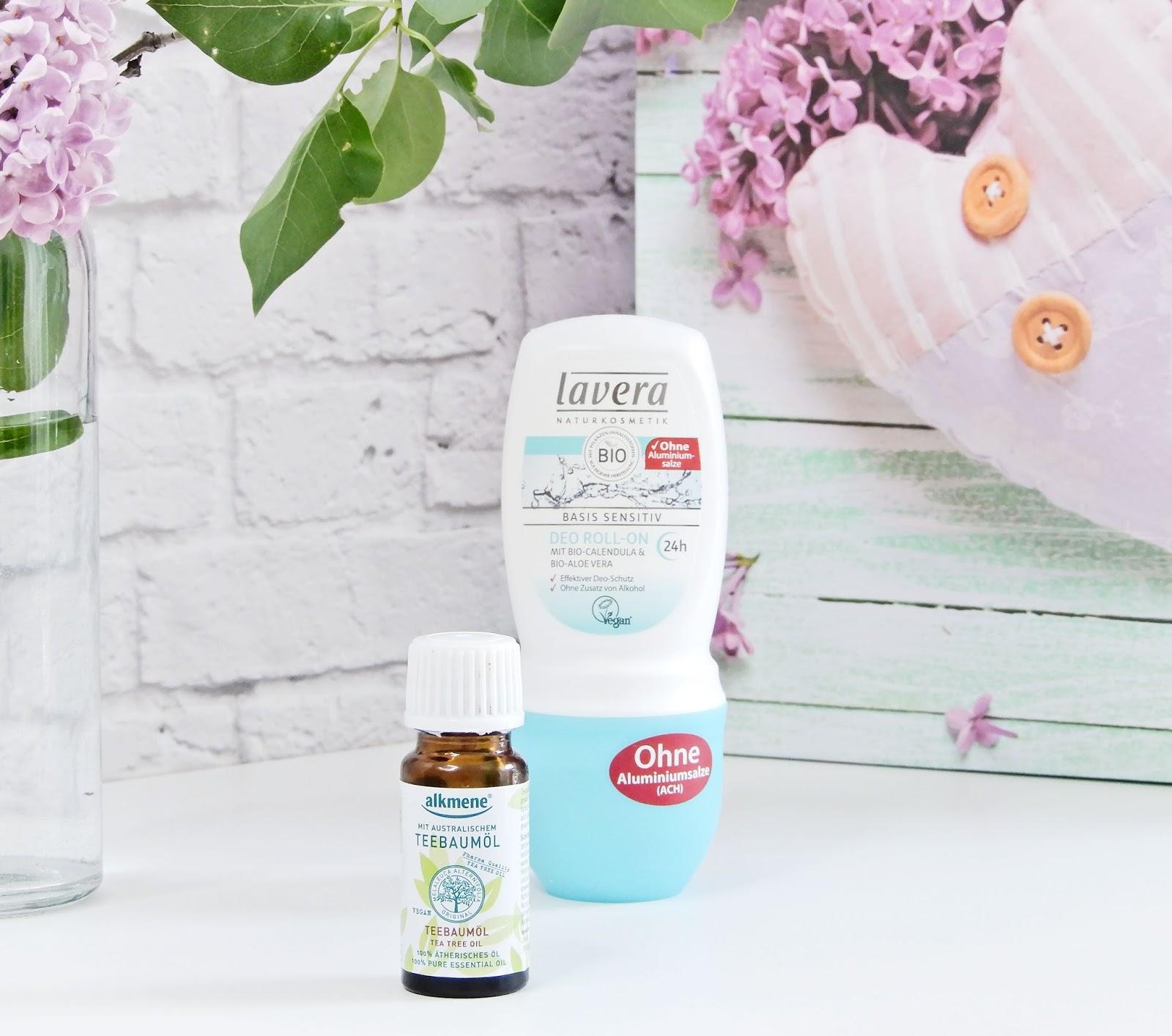 Dezodorant Lavera bez aluminium,olejek z drzewa herbacianego,
