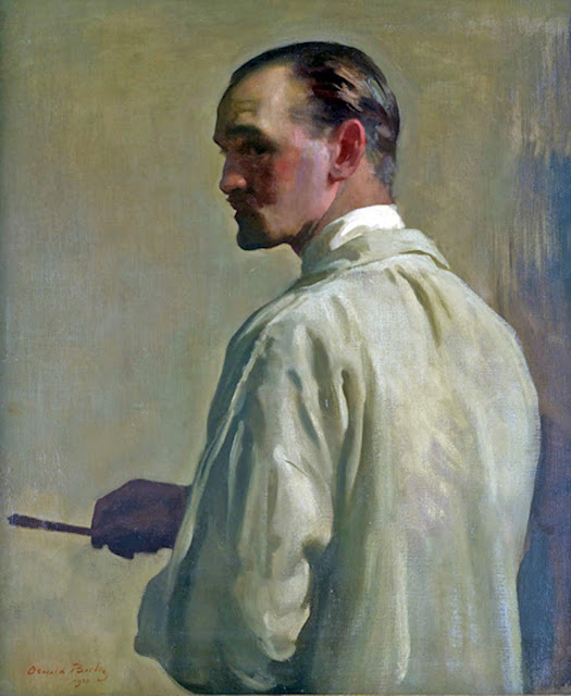 Self Portrait, Oswald Birley, Self Portrait, Art Gallery, Oswald Birley, Portraits of Painters, Fine arts, Oswald Hornby Joseph Birley, Self-Portraits, Painter Oswald Birley