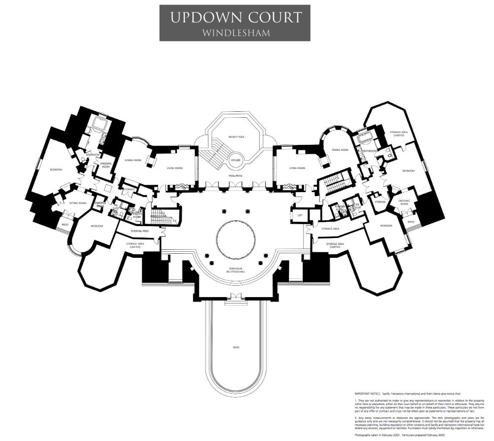 Mega Mansion Floor Plans: Mansions & More: Floor Plans To Updown Court