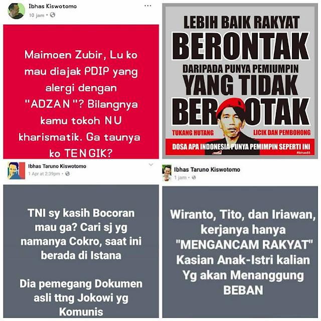 Postingannya Kayak Begini, Pantas Saja Penghina KH. Maimoen Zubair Ini Kena Ciduk, Parah.....