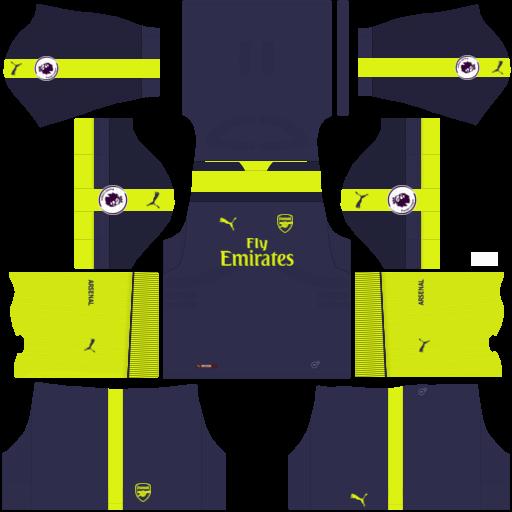san francisco aafed 48ee5 Dream League Soccer Forma ve Logolar Arsenal Forma Url