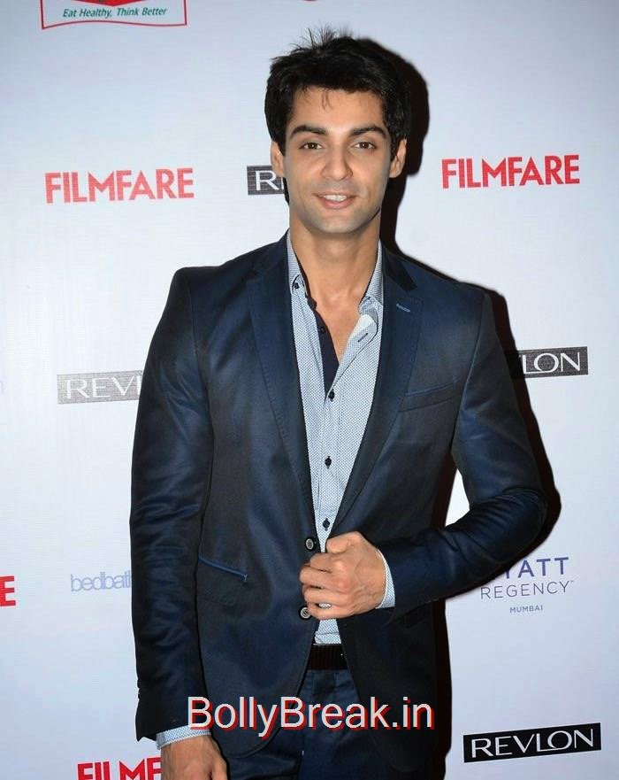 Karan Wahi, 60th Britannia Filmfare Awards pre-awards Party 2015 Red Carpet Pics
