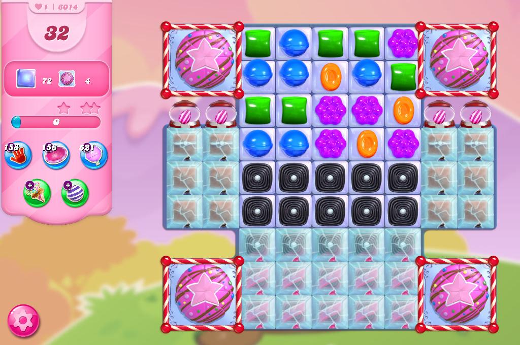 Candy Crush Saga level 6014