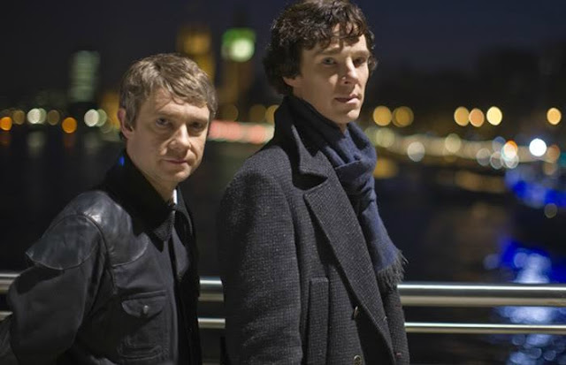 BBC's Sherlock, Series One is a New Look with the Same Names. A review of the 2010 BBC show with Benedict Cumberbatch. Text © Rissi JC