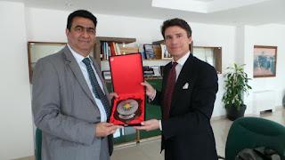 Porto di Civitavecchia: di Majo incontra l'Ambasciatore del Sudafrica