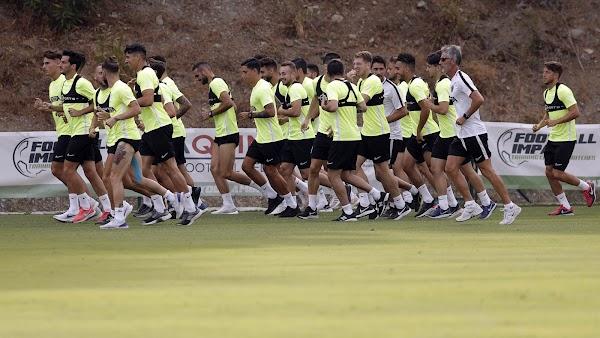 Málaga, Cifu se incorpora al resto del grupo