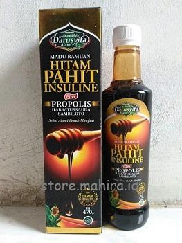 Madu Ramuan Hitam Pahit Insulin Darusyifa