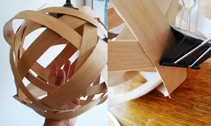 DIY Lampu Rumah Dari Anyaman Kayu - Step 10