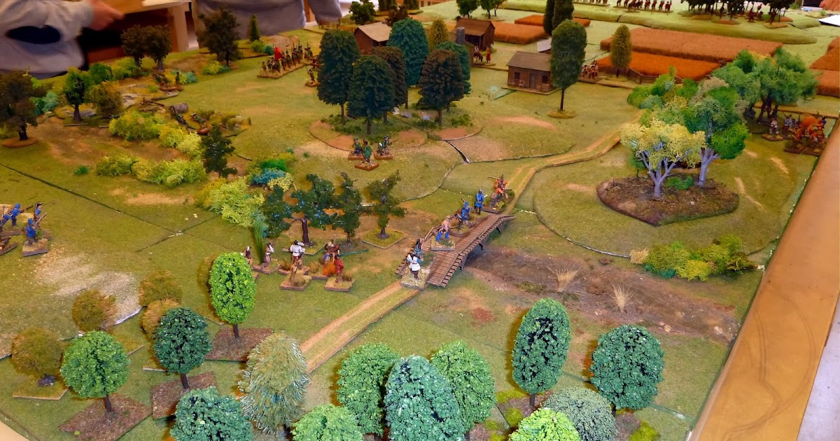 A Wargame Page French Indian Wars Battle Report